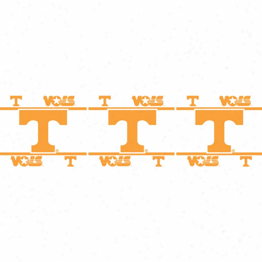 University Of Tennessee Peel & Stick Border