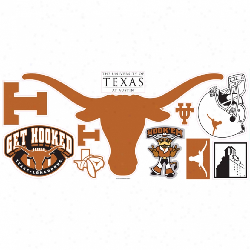 University Of Texas Giant Wall Decals