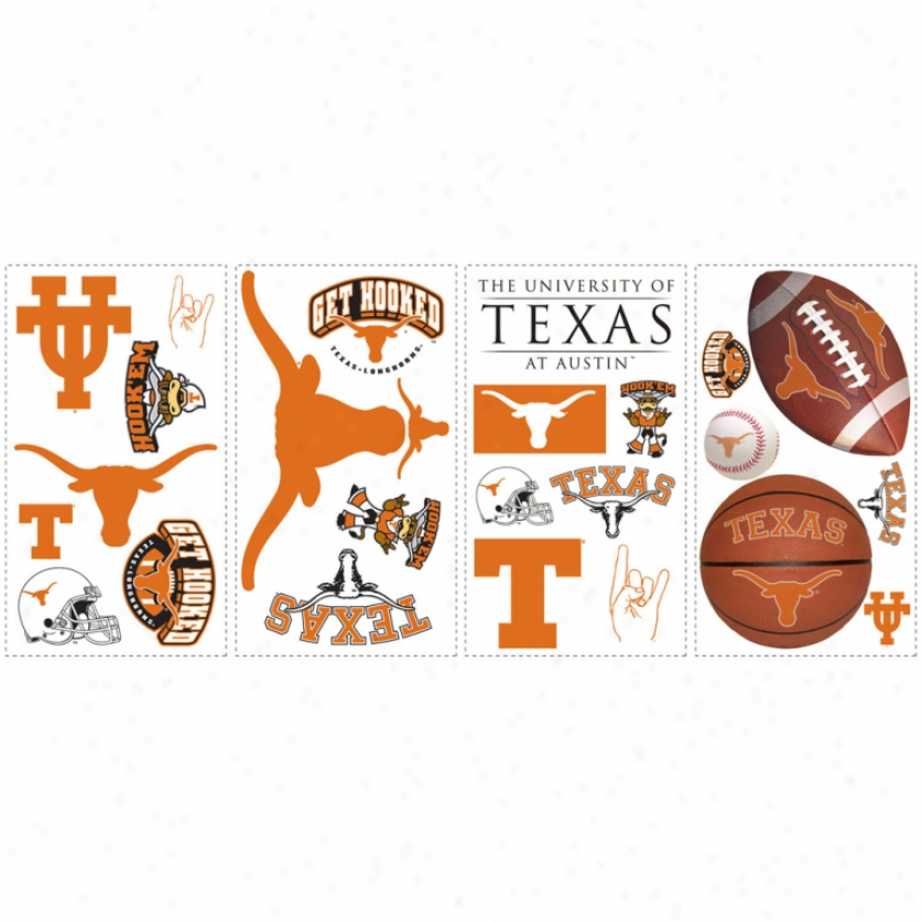 University Of Texas Wall Decals