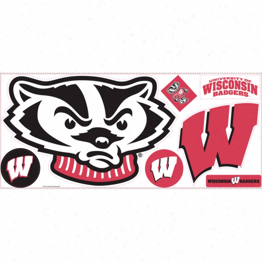 University Of Wisconsin Giant Wall Decals