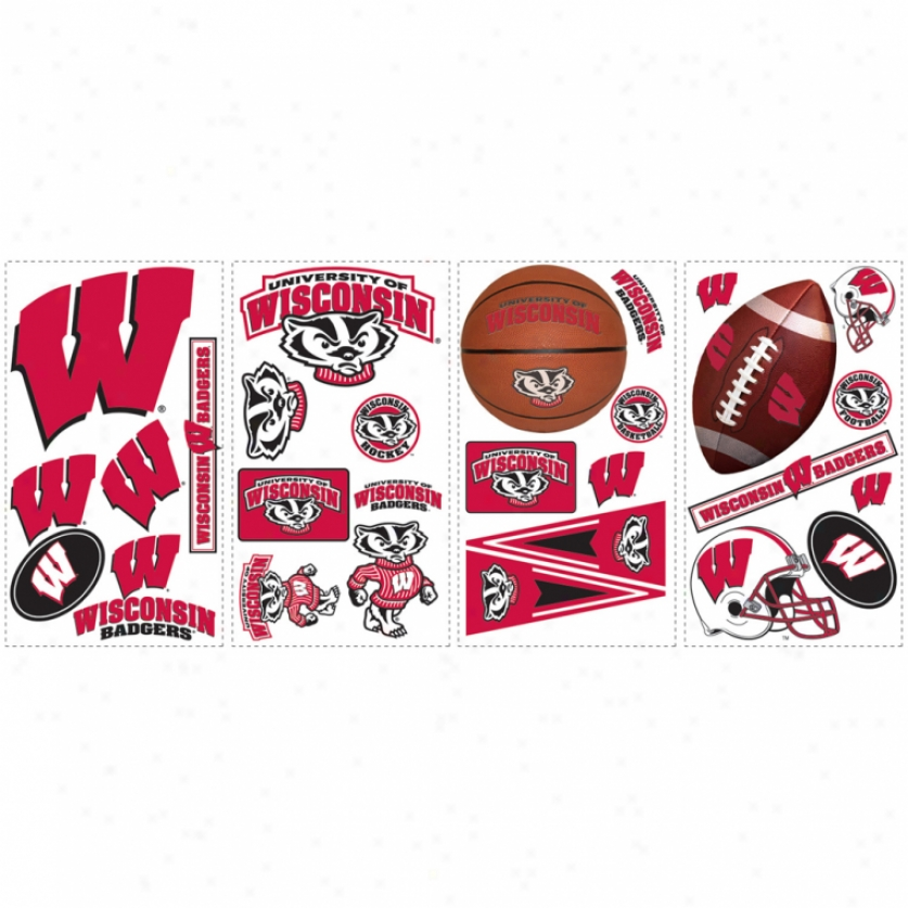 University Of Wisconsin Wall Decals