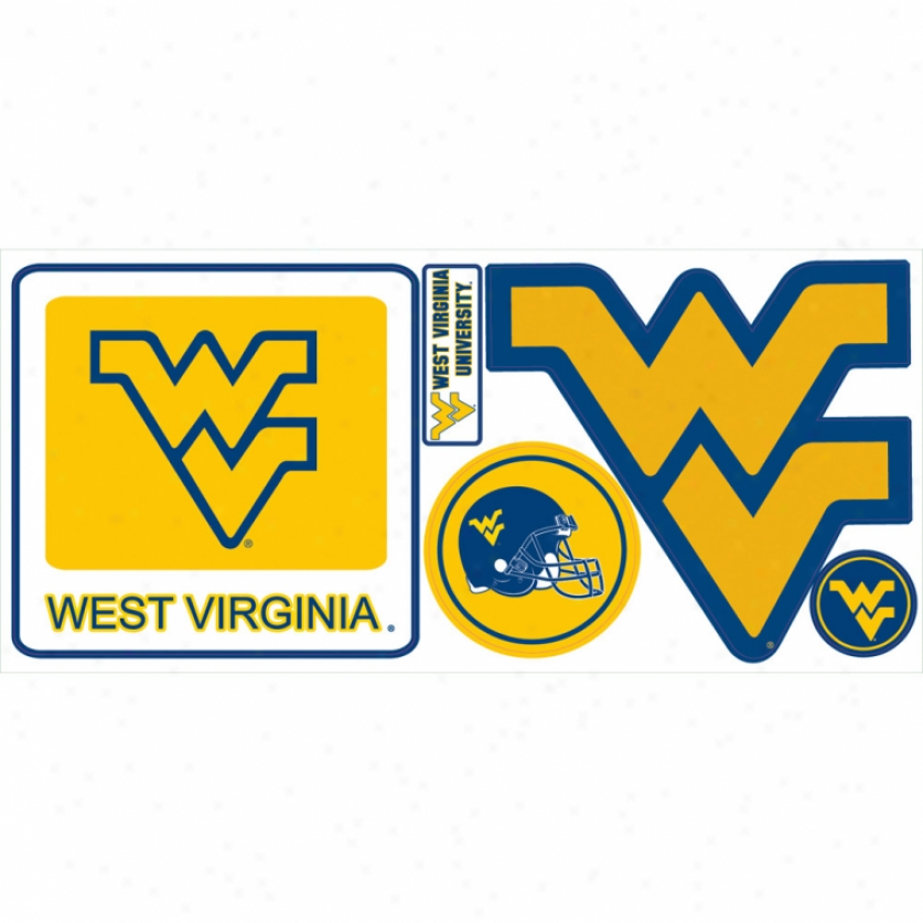 West Virginia University Giant Wall Decals