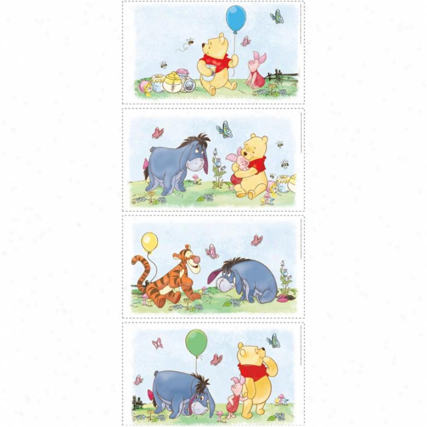 Winnie The Pooh Mini Wall Panels
