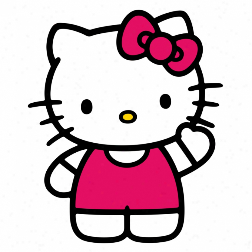World Of Hello Kitty Monster Wall Decal