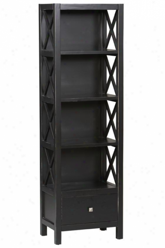 Anna Narrow Bookcase/bookshelf - Home Decorators Collection Bookcases