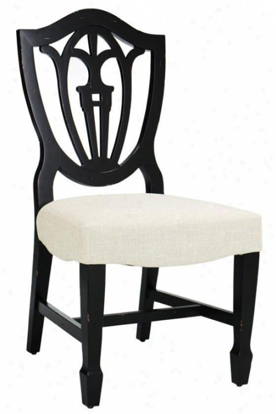 """""""annie Painted Chair - 40""""""""hx21""""""""w, Black"""""""