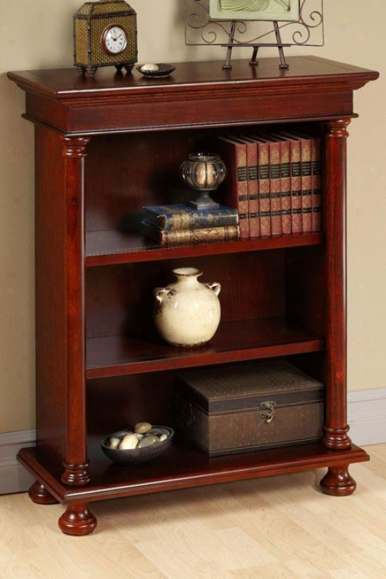 Bookcases From Home Decorators Collection: Salem Three-shelf Bookcase/bookshelf