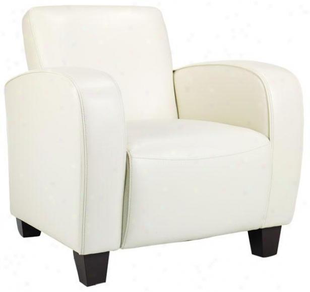 """bradley Club Chair - 33.5""""h, Ivory"""