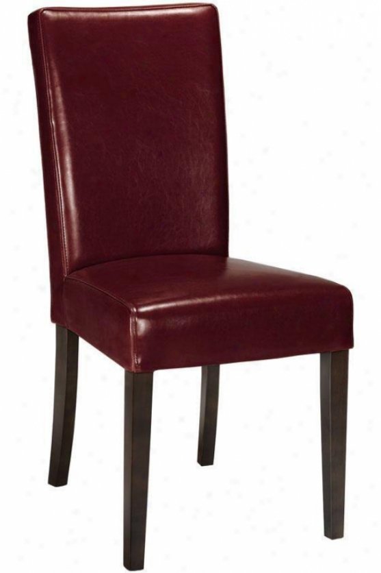 """carmel Chair - 39""""h, Red"""