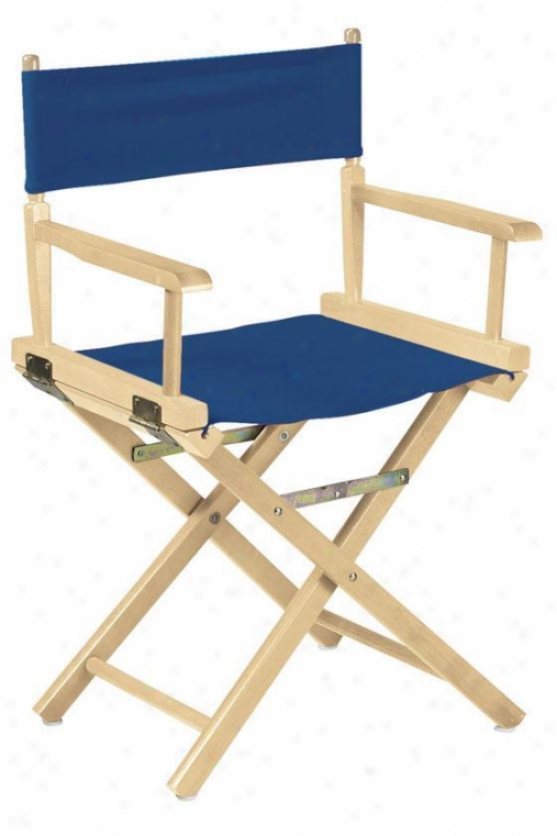 """""""director's Chair Frame 18""""""""h Natural - Director's Chairs From Home Decorators Collection"""""""