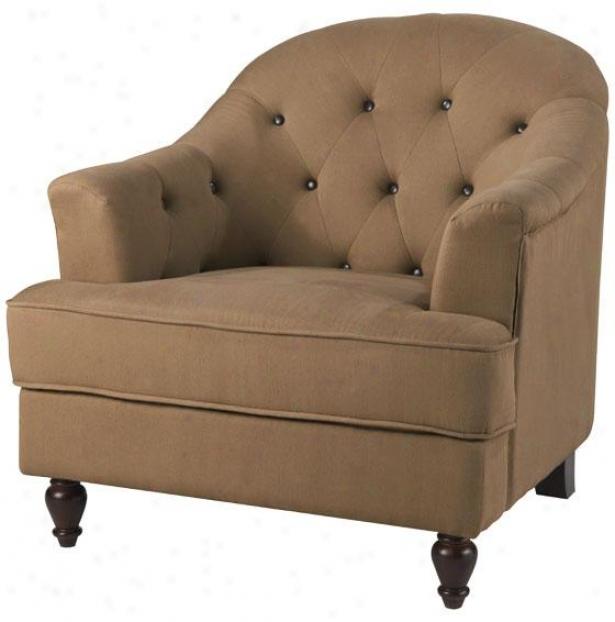 """""""graham Arm Chair - 34""""""""twill, Khaki"""""""