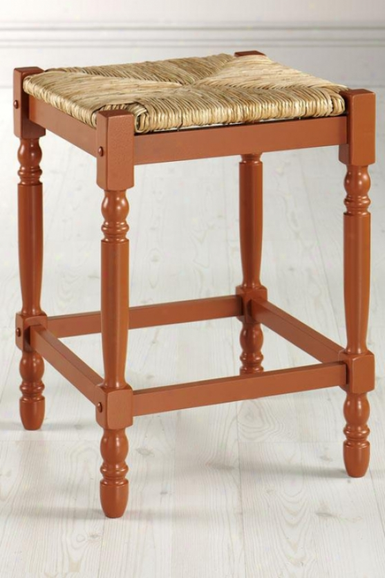 Window Pane Foldable Counter Stool Counter Height Brown