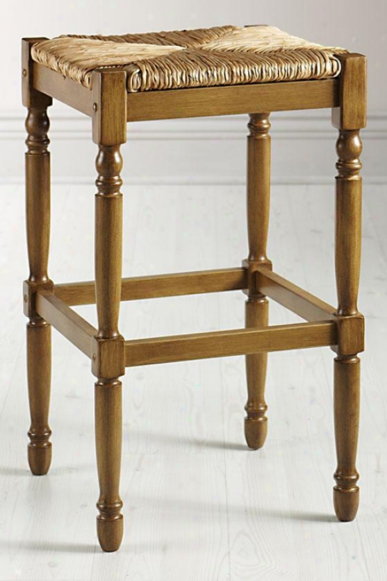 """hamilton Bar Stool - 16.5""""x16.5"""", Reclaimed Oak"""