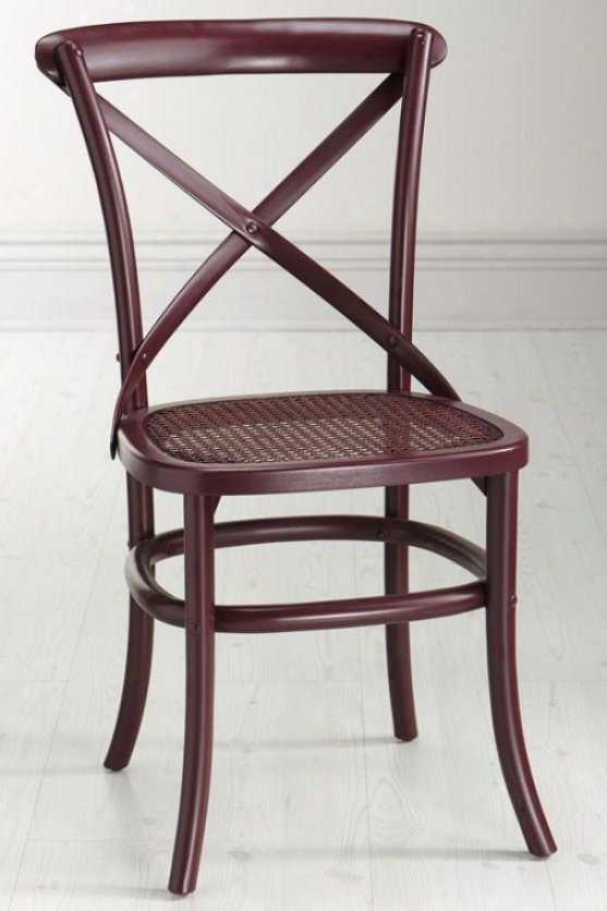 """hamilton Bentwood Chair - 19""""wx20.75""""d, Miso"""