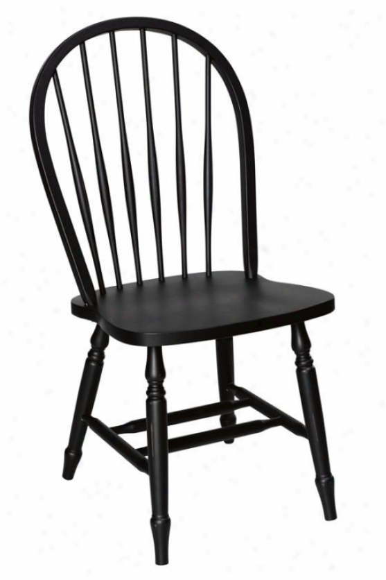 """hamilton Desk Chair - 18""""hx21.5"""", Black"""