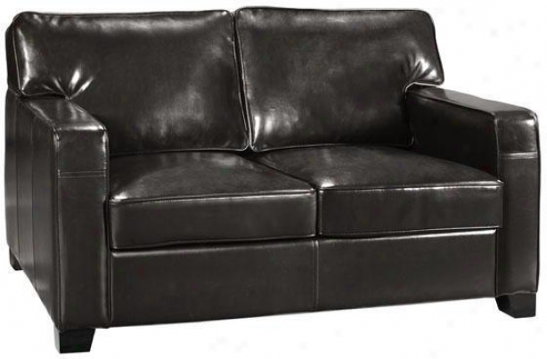 Hartford Loveseat - Loveseat, Bkack