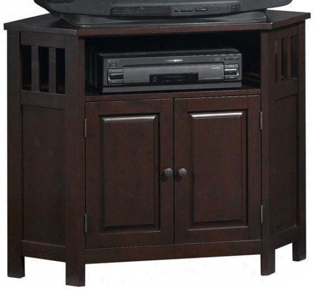 Home Decorators Collection Tv Stand: Mission-style Corner Tv Stand