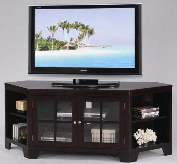 """jeremy Tv Stand - 62""""x20""""x25"", Coffee Brown"""