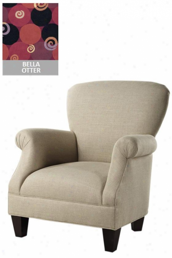 """kenter Classic Chair - 36.5""""hx33.75""""w, Bella Otter"""
