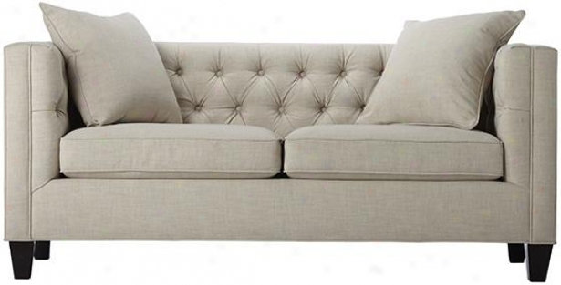 """lakewood Tufted Sofa - 30""""hx70""""wx31""""d, White"""