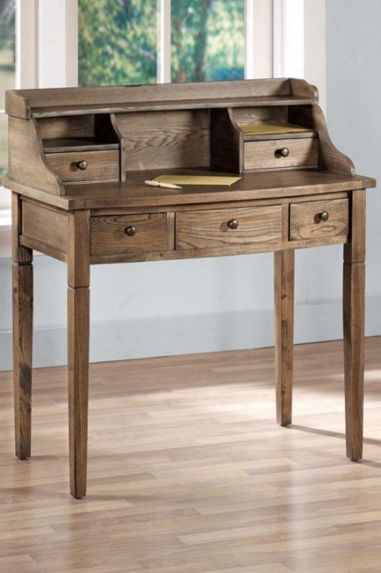 Landon Desk - 5 Draew, Ivory