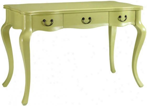 """louisa Desk - 31.75""""hx48""""w, Green"""