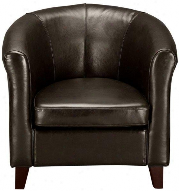 """madrid Club Chair - 30""""h, Brown"""