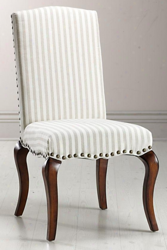 """marais Accent Chair - 39""""nx21.5""""w, Ivory"""