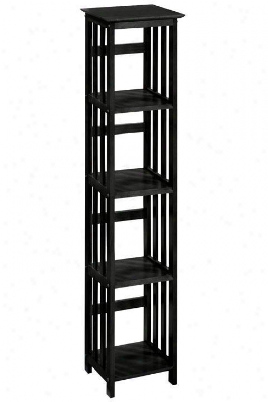 """""""mission-style 14""""""""w 4-shelf Bookshelf/bookcase  - Home Decorators Bookcases"""""""