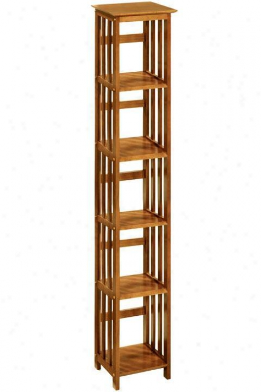 """""""mission-style 14""""""""w 5-shelf Bookshelf/bookcase  - Home Decorators Bookcases"""""""