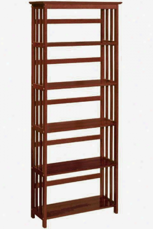 """""""mission-style 29""""""""w 5-shelf Bookshelf/bookcase  - Home Decorators Bookcases"""""""