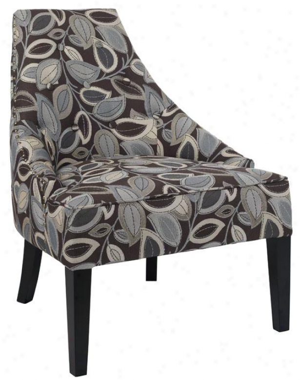 """morgan Accent Chair - 33""""hx26""""w, Trning Lvs Erth"""