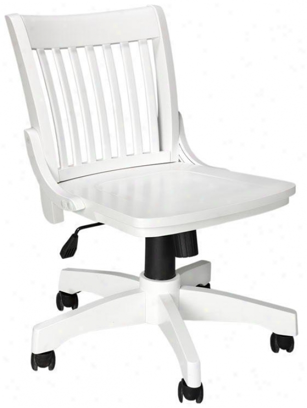 Oxford Adjustable Height Office Chair 31 Hx20 W