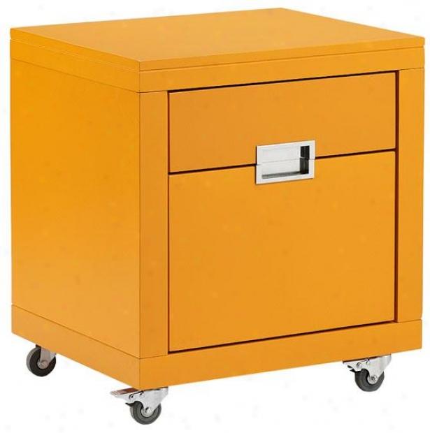 """""""parsons 20.5""""""""w File Case - 23""""""""hx20.5""""""""h, Orange"""""""
