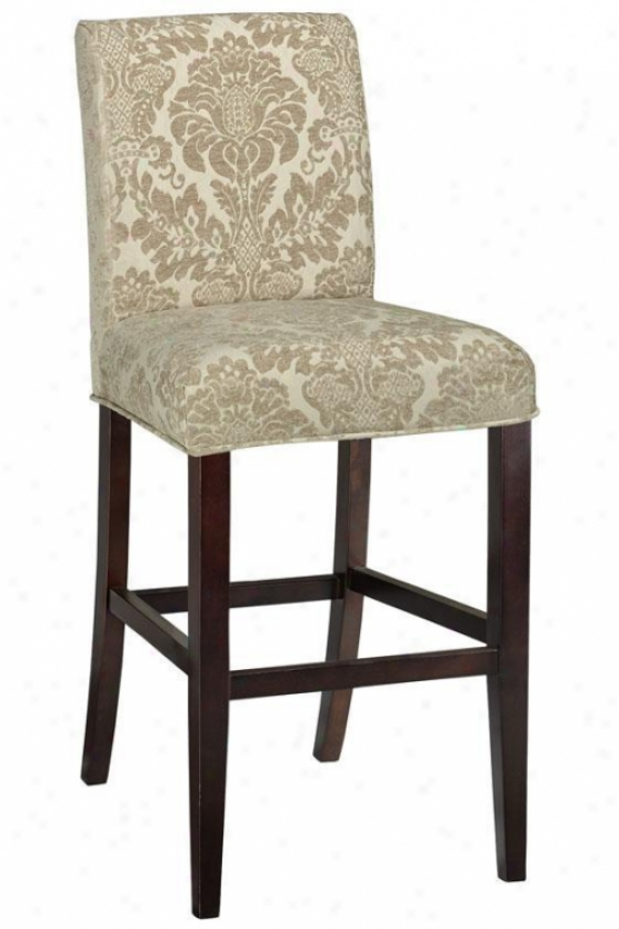 """parsons Stool Slipcover - 42.5""""hx20""""w, Ivpry"""