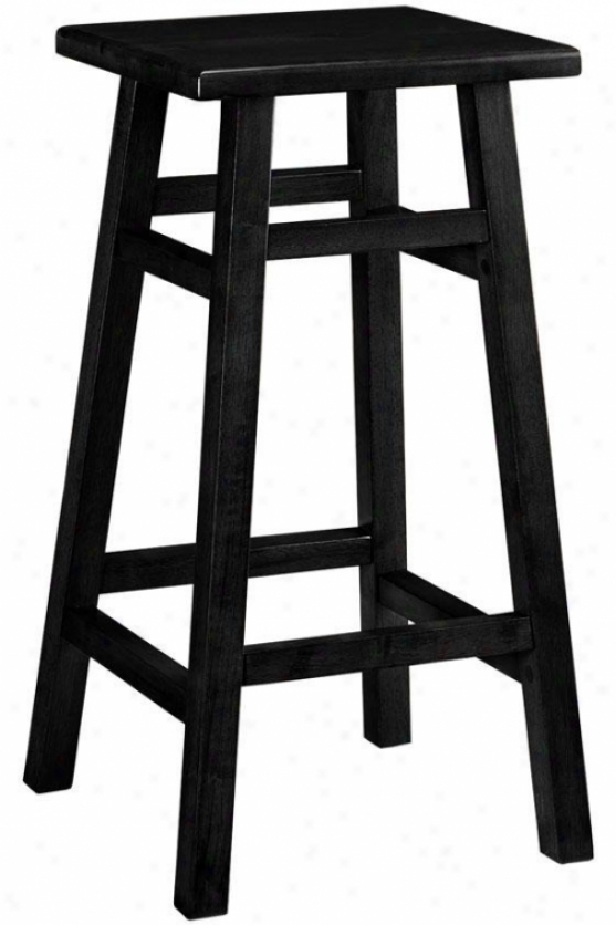 """pub Bar Stool - 30""""h, Balck"""