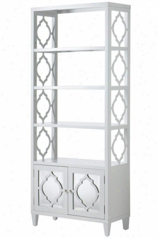 """reflections Bookcase - 72""""x30""""w, White"""