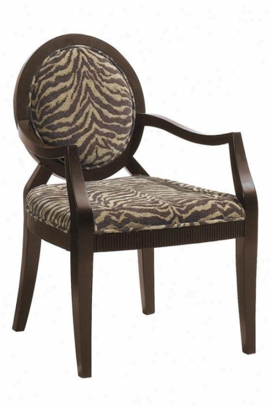 Safari Siena Chair - Walnut, Brown