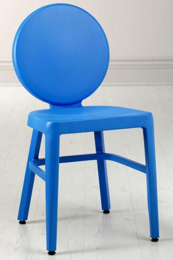 """""""samantha 33""""""""h Side Chair - 33""""""""x20""""""""x16"""""""", Blue"""""""