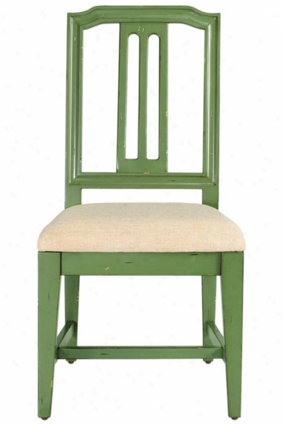"""scandinavia Side Seat of justice - 38""""h, Antique Sage"""