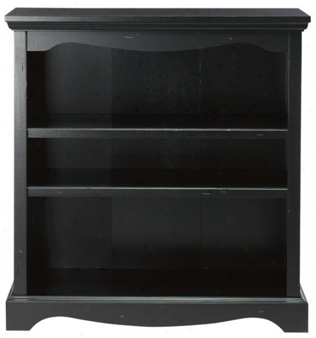 """sheffield 3-shelf Bookcase - 39""""hx36""""wx15""""d, Black"""