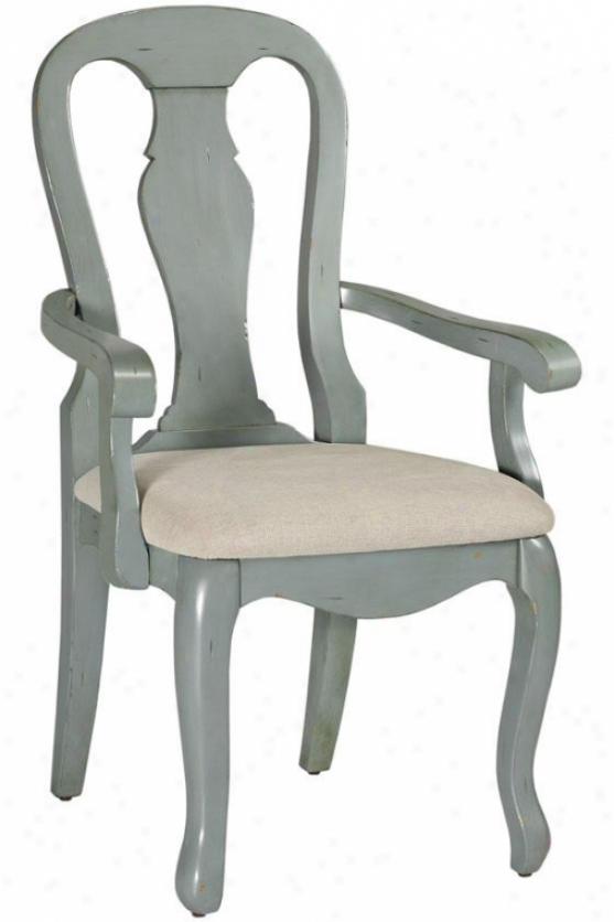 """""""sheffield Arm Chair - 41""""""""h, B1ue"""""""