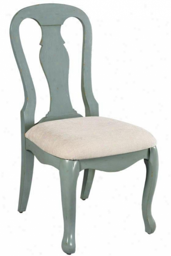 Sheffield Verge Chair - Linen Seat, Blue