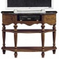 """baymont Tv Stand With Media Storage - 366""""hx48""""wx18""""d, Brown"""