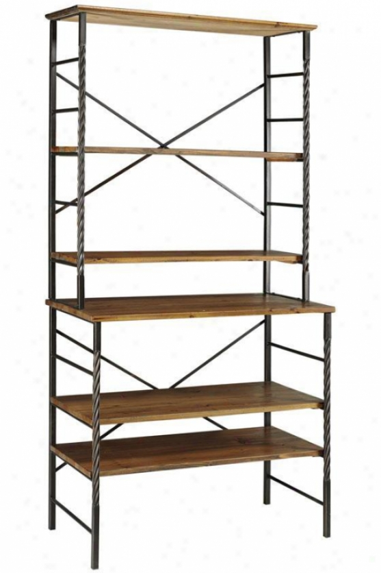 Tuscan Bookshelf - 5 Tier, Black