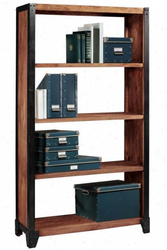 Upton Tall Bookcase/bookshel f- Domestic Decorators Accumulation Bookcases