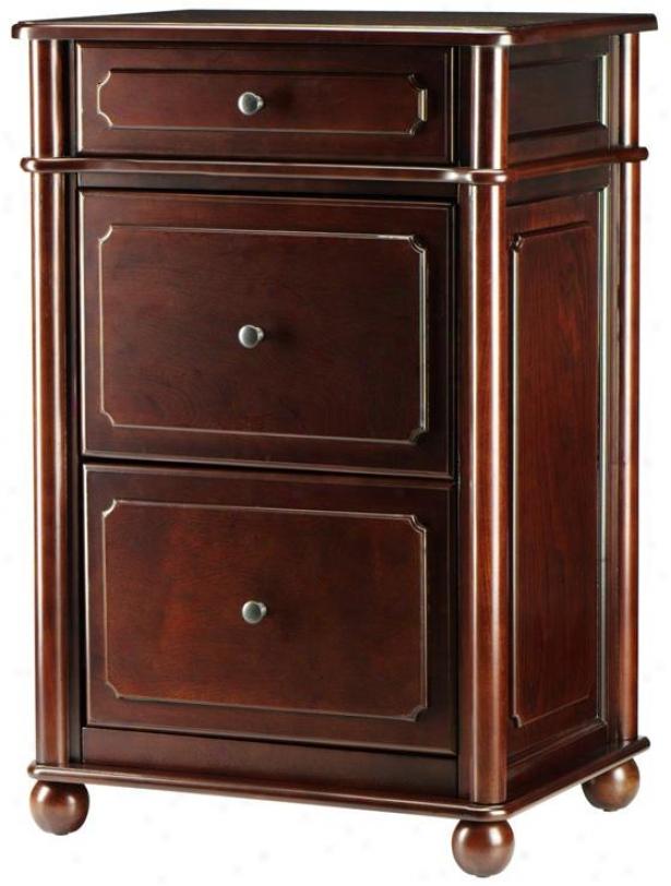 Versatile Essex File Cabinet - 2-drawer, Suffolk Cherrry