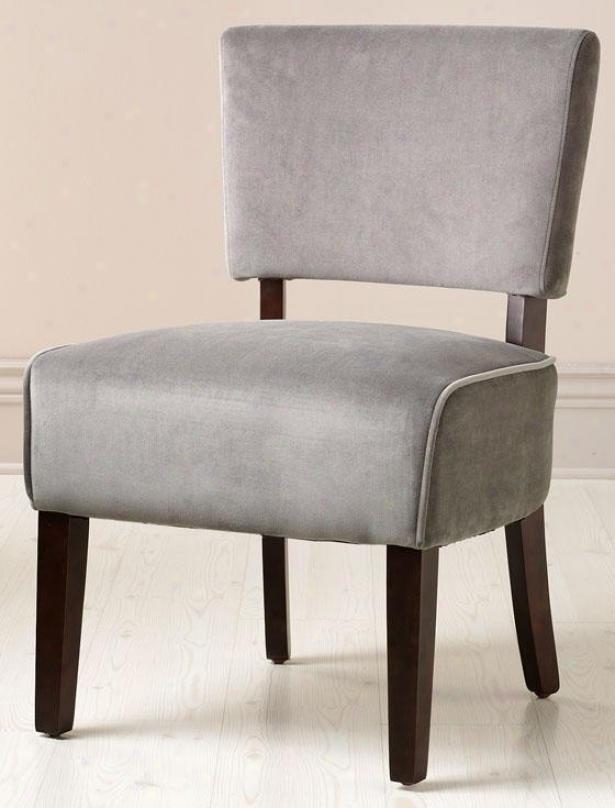 """""""vincent Retro Chair - 21""""""""x23"""""""", Concrete"""""""
