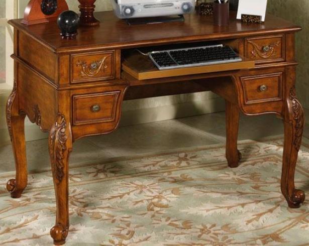 """winslow Computer Writing Desk - 32.25""""hx49""""w, Oak"""